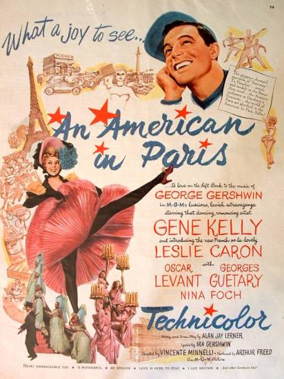 AN AMERICAN IN PARIS-MED